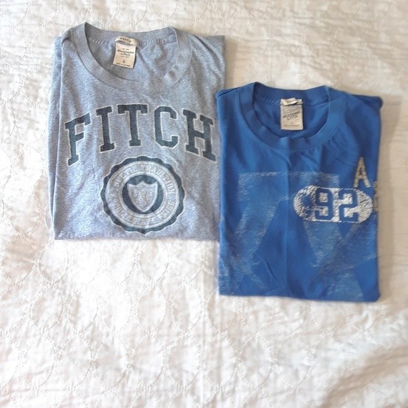 30cd05cf Abercrombie & Fitch Other - 2 Vintage SMALL ABERCROMBIE FITCH MENS TSHIRTS